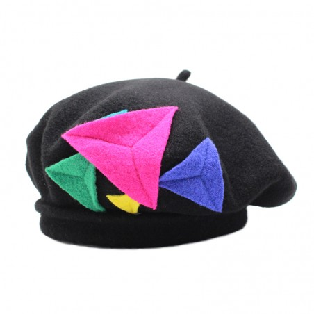 Multi flash 'TEA' beret