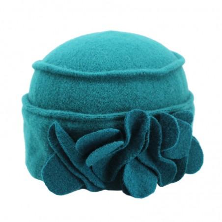 Boiled wool 'LEILA' toque