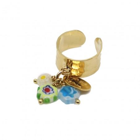 'MILI 01' hammered ring