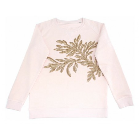 sweater César rose clair