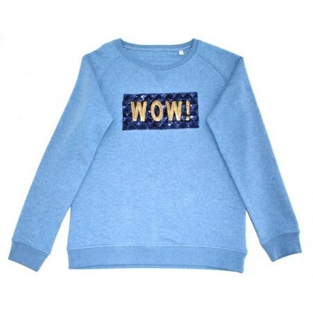'WOWKA' sweater