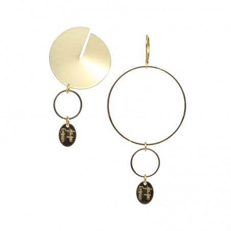'DISCO 02' earrings