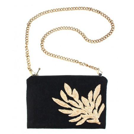 'César' purse