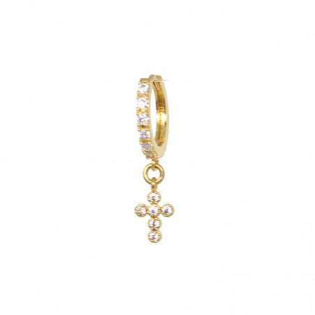 'CROIX 02' MONO earring