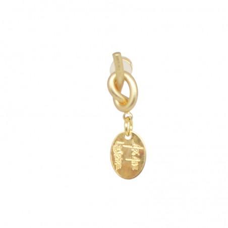 'NODO 02' MONO earring