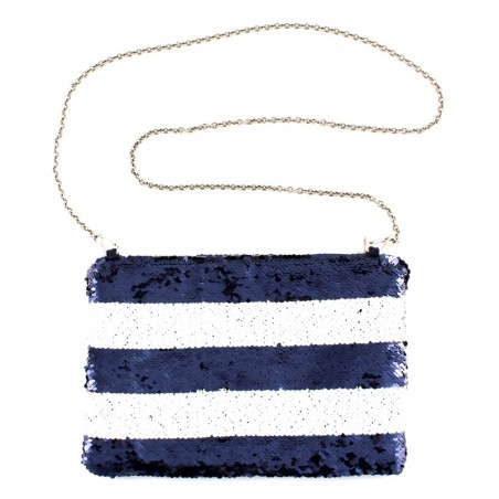 'Marin' purse - marine blue...