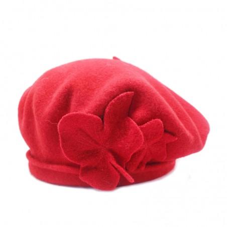 Boiled wool 'PIPA' beret