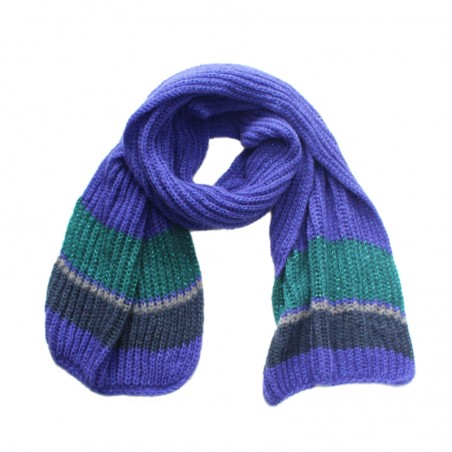 Echarpe OLGA ardoise tricot