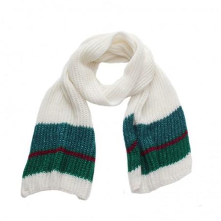 Echarpe OLGA canard tricot