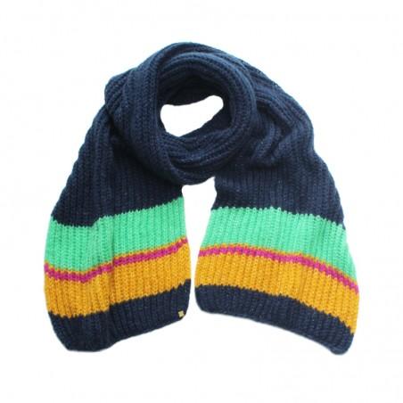 Echarpe OLGA marine tricot