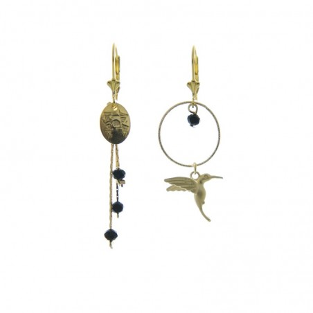short 'Colibri' earrings