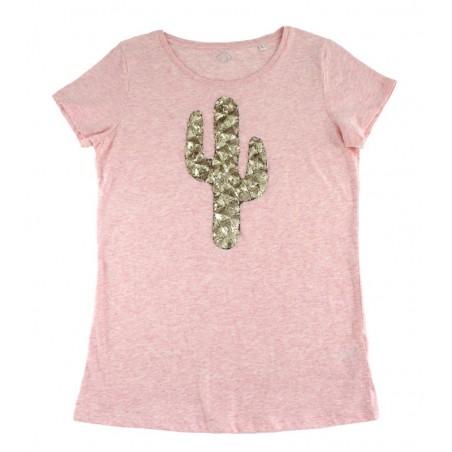 pink 'Cactus' t-shirt