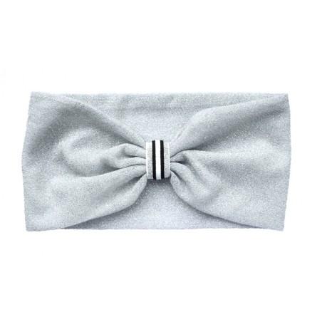 silvered 'Amandine' headband
